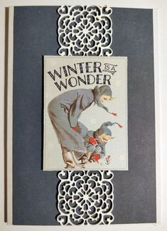 Winter wonderland itse tehty joulukortti Pitsi tehty: Light Modeling Paste Winter Wonderland, Cover, Books, Art, Art Background, Libros, Book, Kunst, Performing Arts