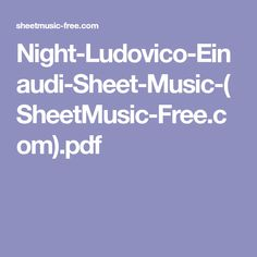 Night-Ludovico-Einaudi-Sheet-Music-(SheetMusic-Free.com).pdf