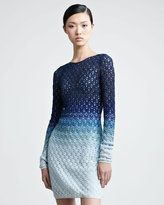 Missoni-missoni longsleeve dress