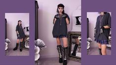 Dope Outfits, New Outfits, Taylor Momsen, Cool Style, My Style, Everyday Dresses, Aesthetic Fashion, Alternative Fashion, Punk Rock