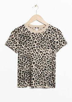 & Other Stories image 2 of Leo Tee in Leopard