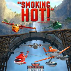 Give us your 2 word review of Planes: Fire & Rescue!