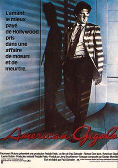 Vintage Movie Star Richard Gere American Gigolo Postcard