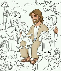 Jesus Loves Me, : Jesus Love Me and the Other Children too Coloring ...