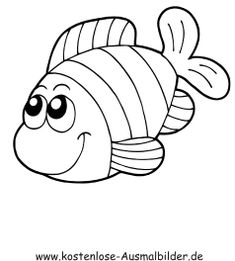 coloring pages fish free - Coloring Pages for kids . Easy Coloring Pages, Coloring Pages For Kids, Coloring Sheets, Art Drawings For Kids, Drawing For Kids, Easy Drawings, Animal Crafts, Easy Paintings, Applique Designs