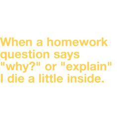 No homework quotes