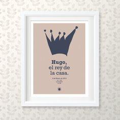 Modelo Rey, Pósters infantiles - Ratón Colorao Rey, Letter Board, Lettering, Frame, Home Decor, Templates, Picture Frame, Decoration Home, Room Decor