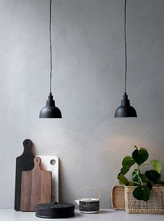 Modern Home Decor Kitchen Kitchen Lamps, Home Decor Kitchen, Kitchen Lighting, Diy Bedroom Decor, Living Room Decor, Exterior Doors For Sale, Exterior Shutters, Scandinavian Lamps, Lampe Gras