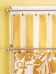 Charming Ideas for Spring Decorating, Light Window Curtains – Hazir Site Yellow Kitchen Curtains, Kitchen Window Curtains, Yellow Kitchen Decor, Yellow Curtains, Modern Curtains, Yellow Fabric, Polka Dot Curtains, Rustic Fall Decor, Bright Homes