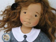 Helena – szmaciana lalka artystyczna – Lalinda