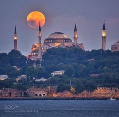 Hagia Sophia / Photo By elvanalver – Aykut Dinç – Join the world of pin Istanbul City, Istanbul Travel, Istanbul Turkey, Beautiful Places In The World, Beautiful Places To Visit, Wonderful Places, Beautiful Scenery, Italy Landscape, Landscape Photos