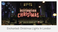 Christmas has arrived on London's busiest shopping street!   Here are some of the prettiest sights on Oxford Street including the enchanting Fairytale window displays at Selfridges department store. The lights will stay on until January 4, 2015.   Go to http://followthatbug.com/blog/christmas-lights-london-2014 for more info and other videos on things happening in London.   Happy holidays!  ===  - Filmed on November 6, 2014 with Canon EOS 650D - Filmed & Edited by Eileen Hsieh - ...