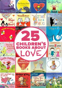This list of 25 sweet children's books about love will help open a dialog with your kids about empathy, sharing and caring for others. Such a lovely list!
