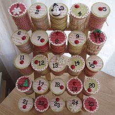 Home-Dzine - How to make an advent calendar