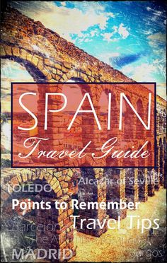 Spain Travel Guide #Spain #Guide