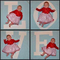 Baby Photoshoot ideas VALENTINES DAY