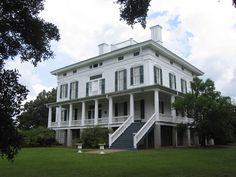 Redcliffe Plantation was one of four plantations along the Savannah River owned by James Henry Hammond. The house was built between 1857-59, just prior to the start of the Civil War. #SC