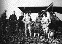 Flying Aces WW1 Lafayette Escadrille from Left to right: Soubiren, Rockwell, Chicomski, Thenault, Cambell and Thall.