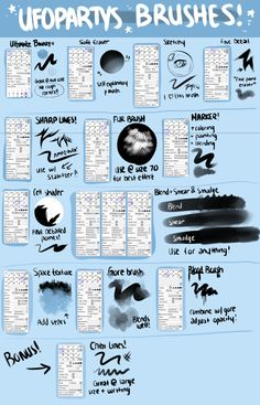 Ufoparty's Big Giant Brush Setting Guide by ufoparty.deviantart.com on @DeviantArt