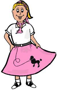 pin by anita vasquez centeno on jukebox s maltshops drive ins rh pinterest com poodle skirt clipart 1950's poodle skirt clip art