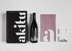 Akitu, a winery in New Zealand / branding and packaging design by Inhouse