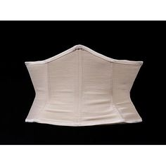 """1940s waspie by french corset  maker J. Roussel   """"The 'waspie' was a belt-girdle designed to cinch the waist and create an exaggerated hour-glass figure. It emerged in Paris during the war and became an essential tool in achieving the 'wasp waisted' New Look, launched by Christian Dior (1905-57) in 1947""""  V"""