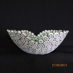 Oval coil bowl