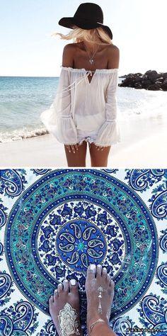 Пляжные образы Helen Janneson Bense