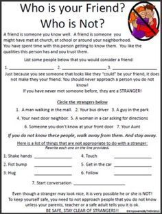 Image Result For Life Skills Worksheets For Elementary Students