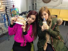 130116 Taeyeon and Tiffany @ Shim Shim Tapa