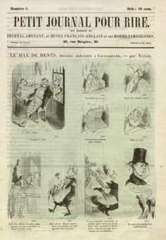 Le Mal de Dents, Molaire Arrachee, c1855