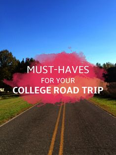 College Road Trip Essentials | Spring Break Packing List