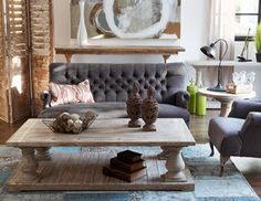 Rustic Classics - Accent Furniture with Distinctive Allure