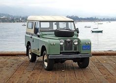 1965 Land Rover Series IIA Series IIA 88 LHD 1965 Land Rover Series IIA LHD 88: Restored, Mechanically Strong California IIA