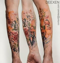 Herbal by Deexen.deviantart.com on @DeviantArt