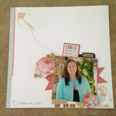 #ctmh Ariana layout using Windy Day stamp set The Brae-er | Just another WordPress site