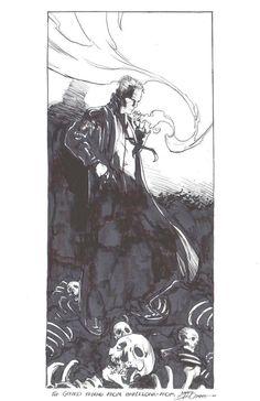 John Constantine by Larry Stroman