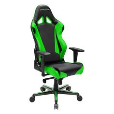 DXRacer Racing Series Newedge Edition Racing Bucket Seat Office Chair Gaming Chair PVC Ergonomic Computer Chair eSports Desk Chair Executive Chair With Pillows (Black/Green) – BoughtAgain Bedroom Chair, Desk Chair, Gaming Chair, Game Room Chairs, Cool Office Desk, Office Chairs, Ergonomic Computer Chair, Scandinavian Dining Chairs, Patterned Armchair