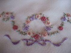 Χρυσάνθης χειροποιήματα.Embroidered baby blanket !!!