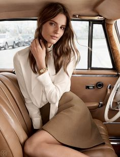 The Bow Blouse | Tory Burch Fall 2015