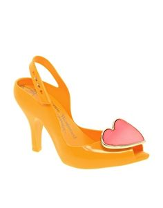 Vivienne Westwood for Melissa Lady Dragon VIII Heeled Sandals