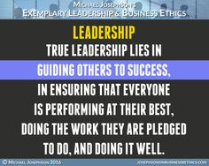 BEST EVER POSTER QUOTES ON LEADERSHIP - What Will Matter