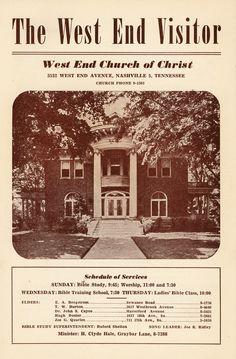 June 17, 1945 Church Bulletin