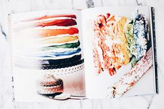 The delicious rainbow cake in Meringue Girls #GiveBooks