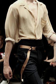 Dress to express, not to impress — miumiugardens: dries van noten menswear fall '16