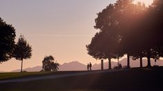 sunset walkers by Michel Mayerle on Pedestrian, Celestial, Sunset, Outdoor, Landscapes, Sunsets, Outdoors, Outdoor Living, Garden