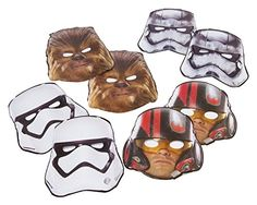 Who sells American Greetings Star Wars Episode VII Masks, 8 Count, Party Supplies Novelty for Christmas Gifts Idea Shopping