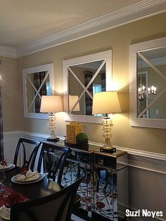 Classic Dinning Room in New Construction Home