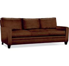Nolan Bonded Leather 3 Seater Sofa Camel Industrial