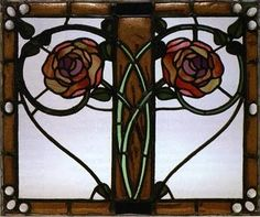 By stained Glass artist, George Walton.